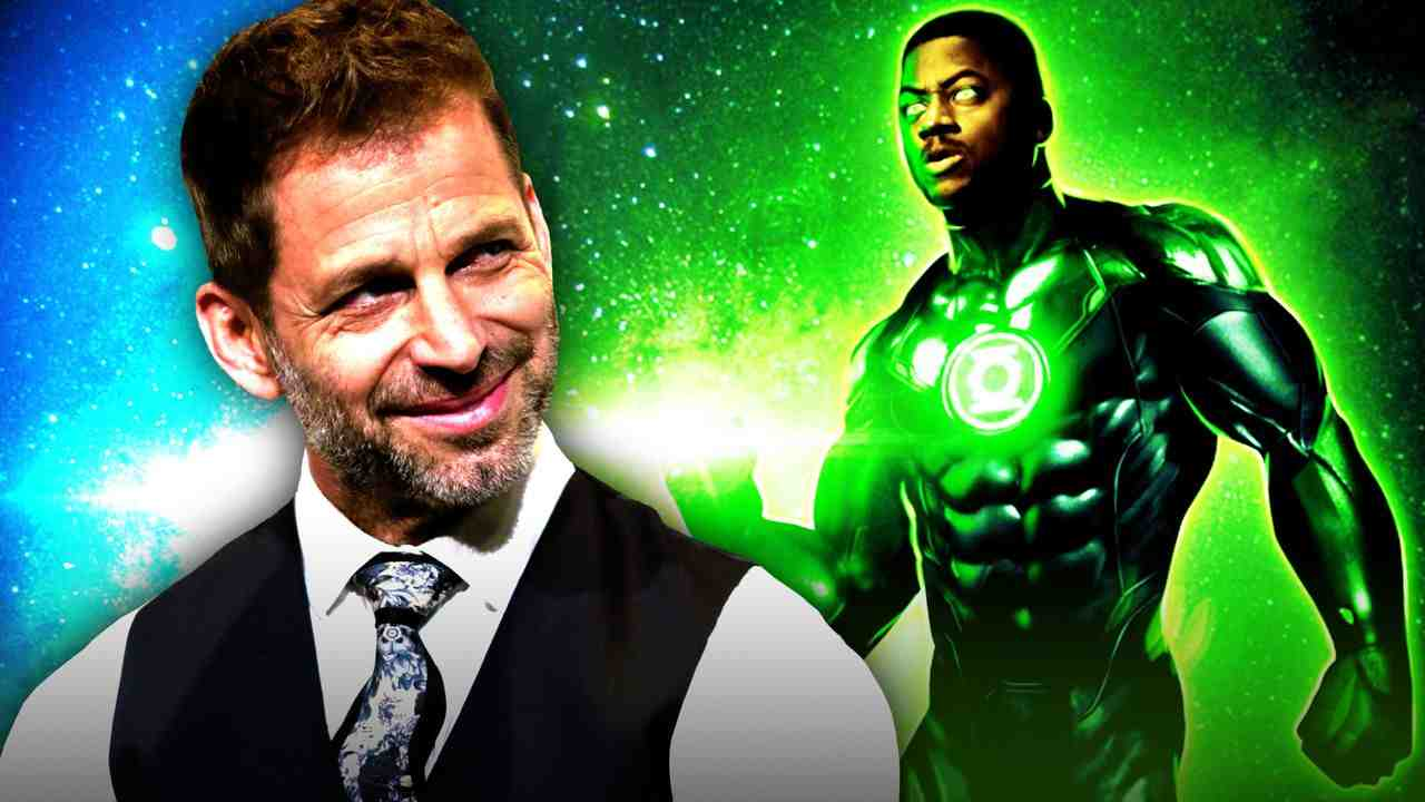 Zack Snyder Green Lantern