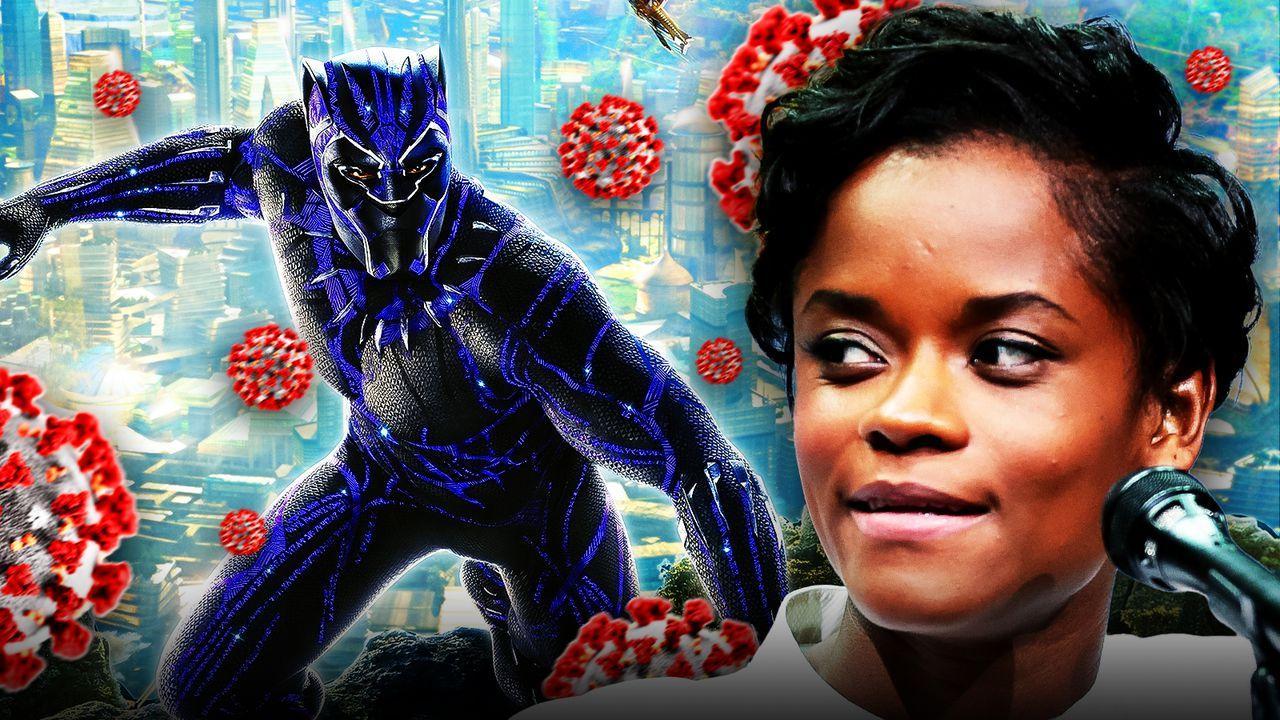 Black Panther, Letitia Wright, Coronavirus