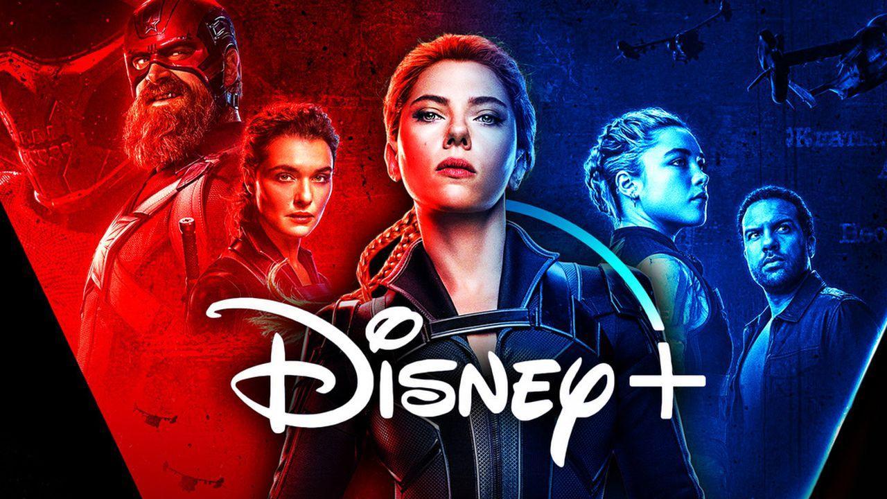 Black Widow, Disney+