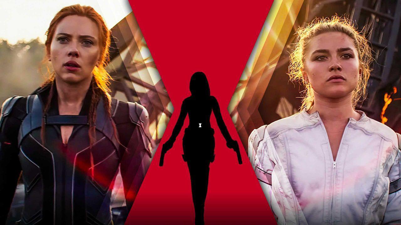 Scarlett Johansson as Black Widow, Black Widow logo