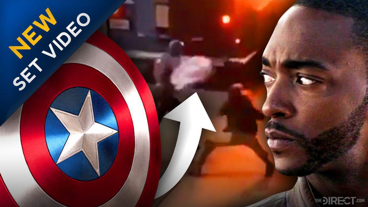 Anthony Mackie, The Falcon and The Winter Soldier