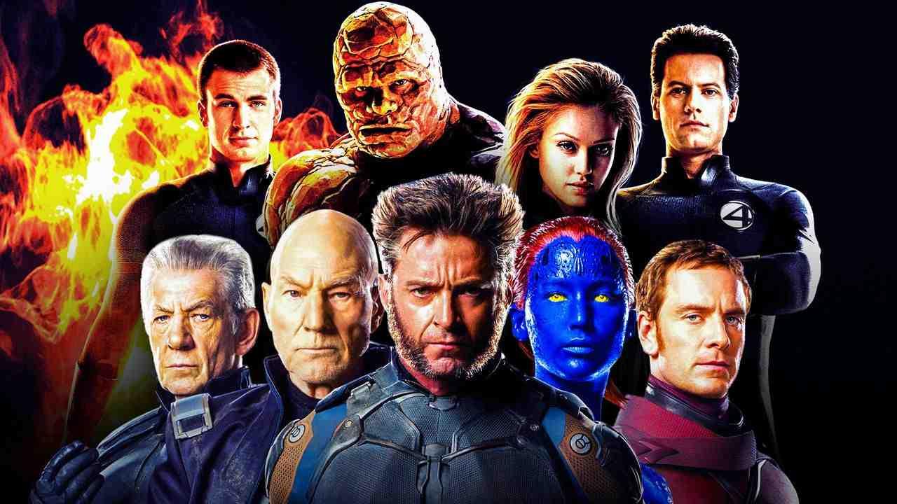 Fantastic 4, X-Men
