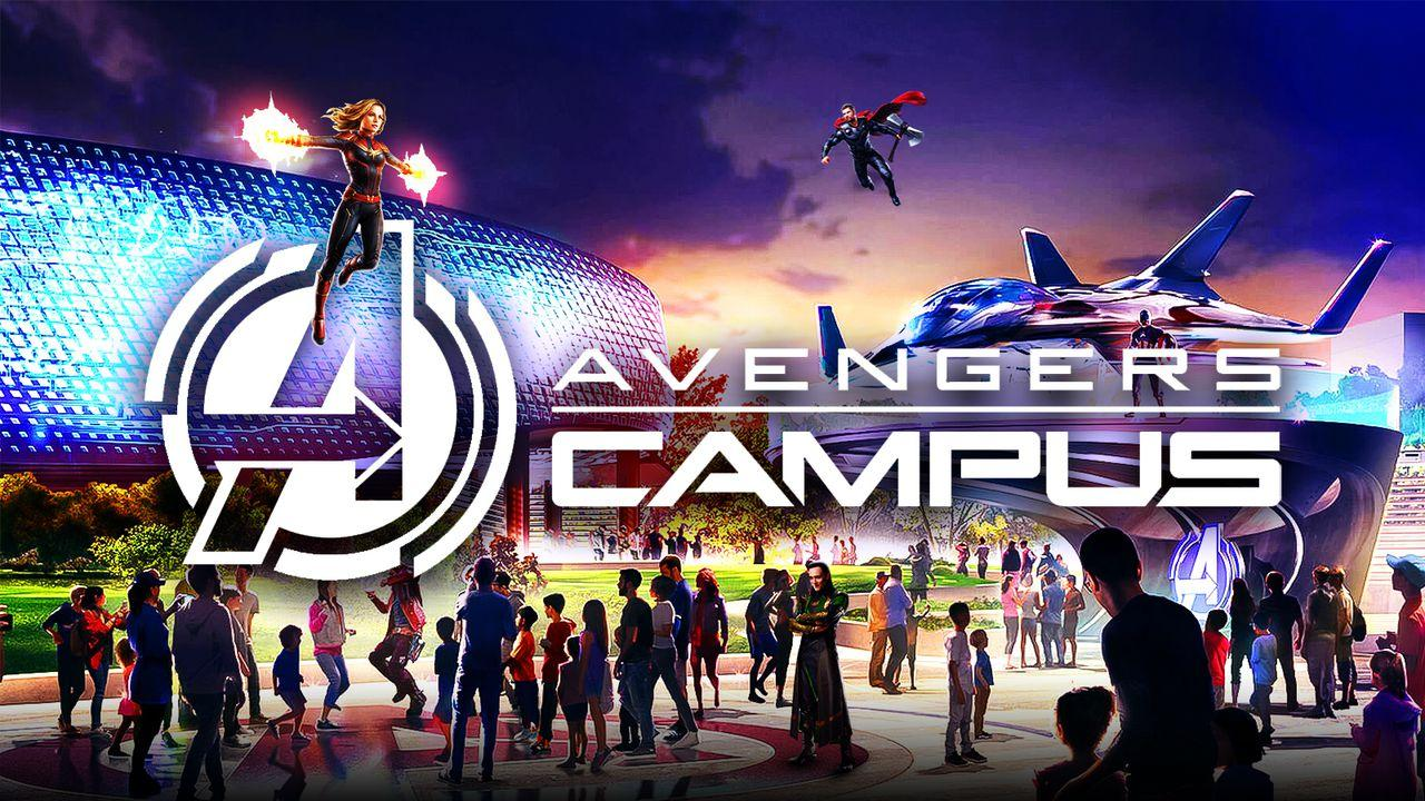 Avengers Campus Marvel Characters