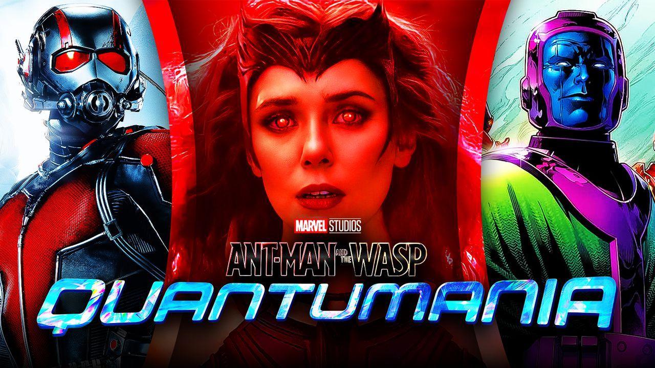 Scarlet Witch Ant-Man Kang