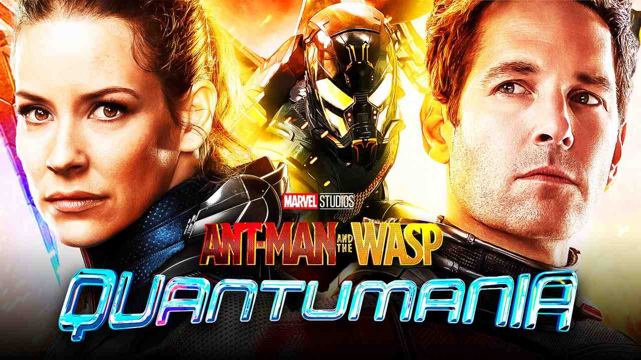 Yellowjacket, Paul Rudd as Ant-Man, Evangeline Lilly as Wasp