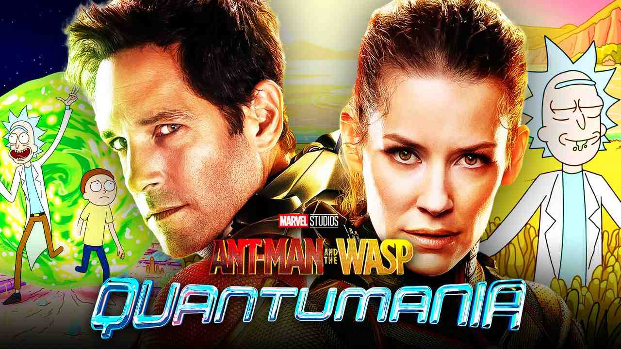 Rick and Morty, Ant-Man, Wasp, Paul Rudd