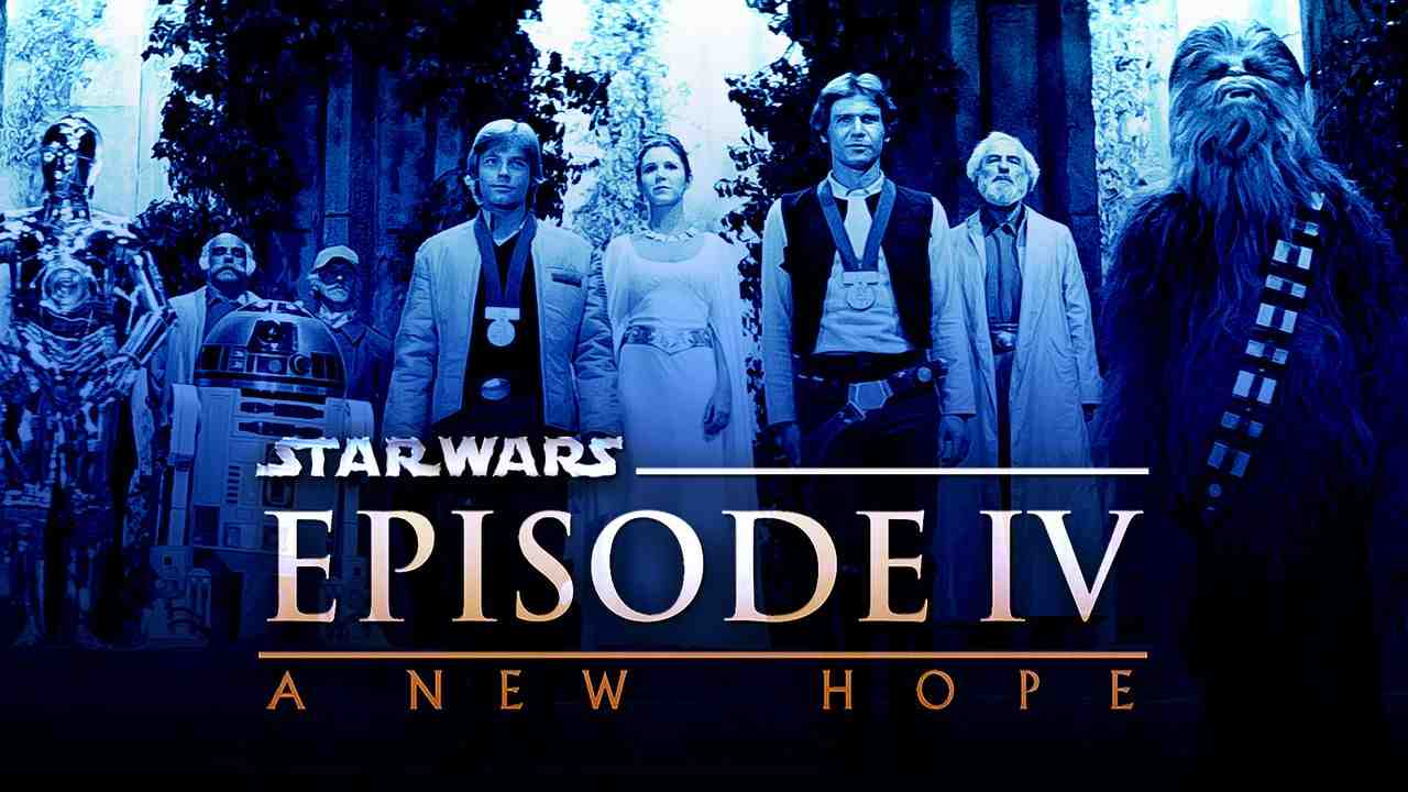 Mark Hamill as Luke Skywalker, Carrie Fisher as Leia Organa, Harrison Ford as Han Solo