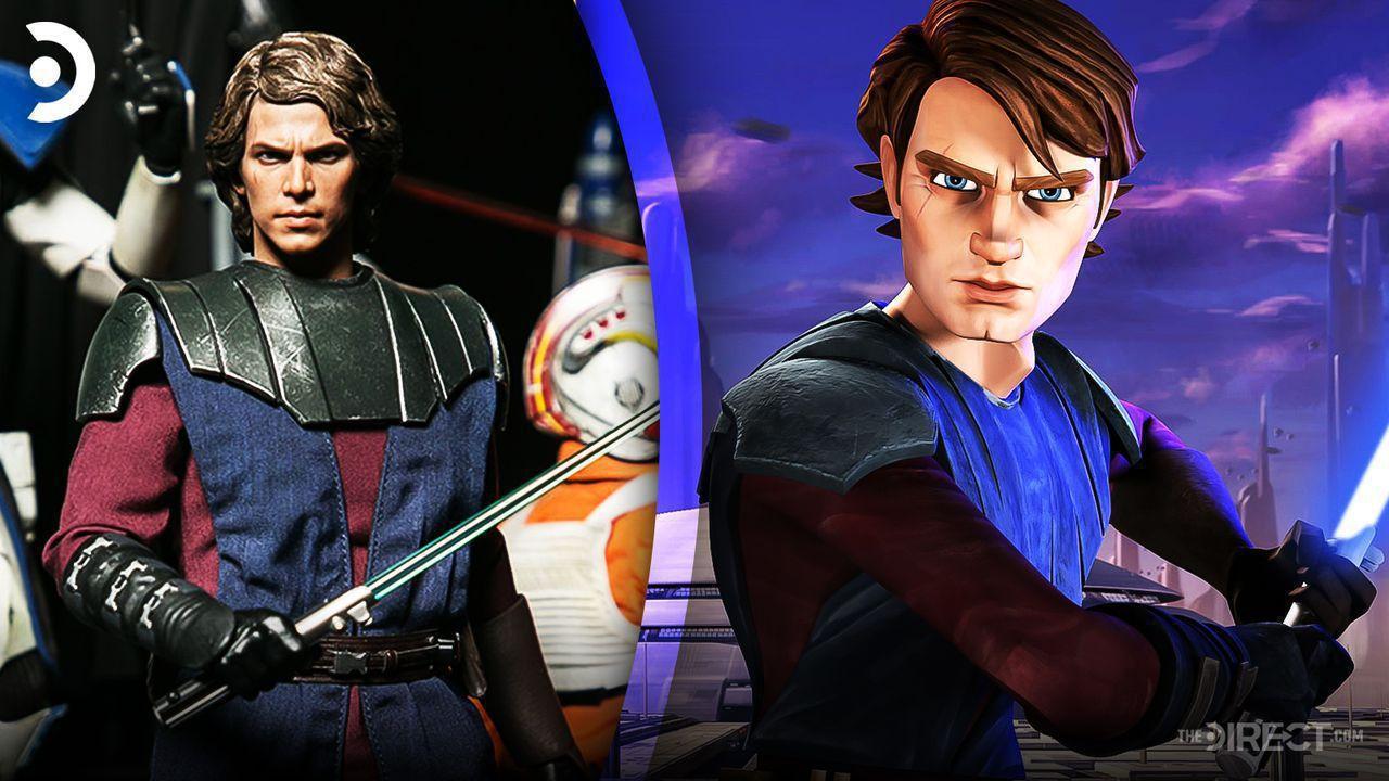 Hot Toys Anakin Skywalker, Clone Wars Anakin Skywalker Animated