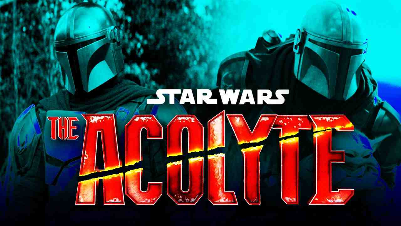 The Mandalorian and The Acolyte logo