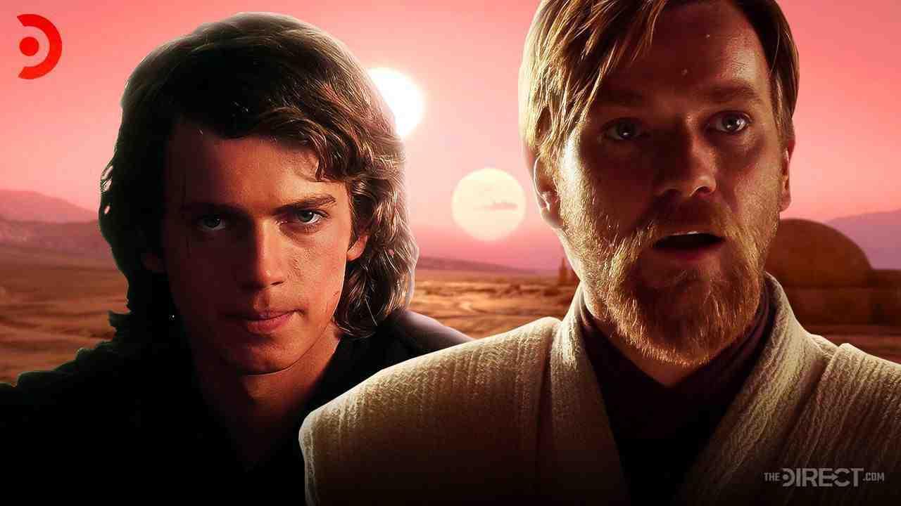 Hayden Christiansen as Anakin Skywalker, Tatooine, Ewan Mcgregor as Obi-Wan Kenobi