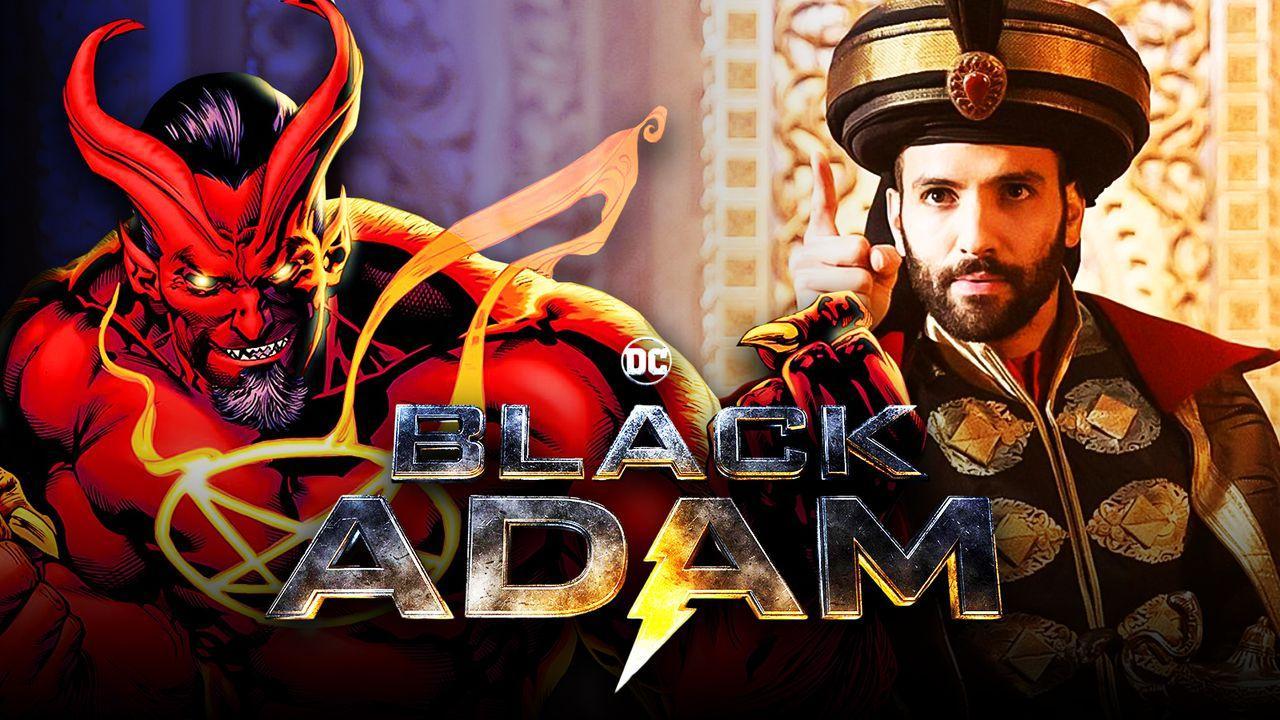 Sabbac, Marwan Kenzari as Jafar, Black Adam