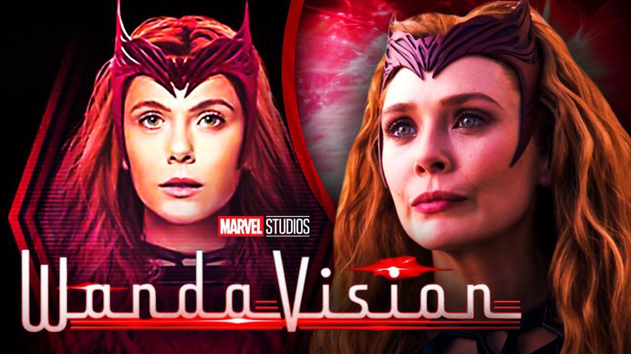 Wanda, the Scarlet Witch, WandaVision title logo