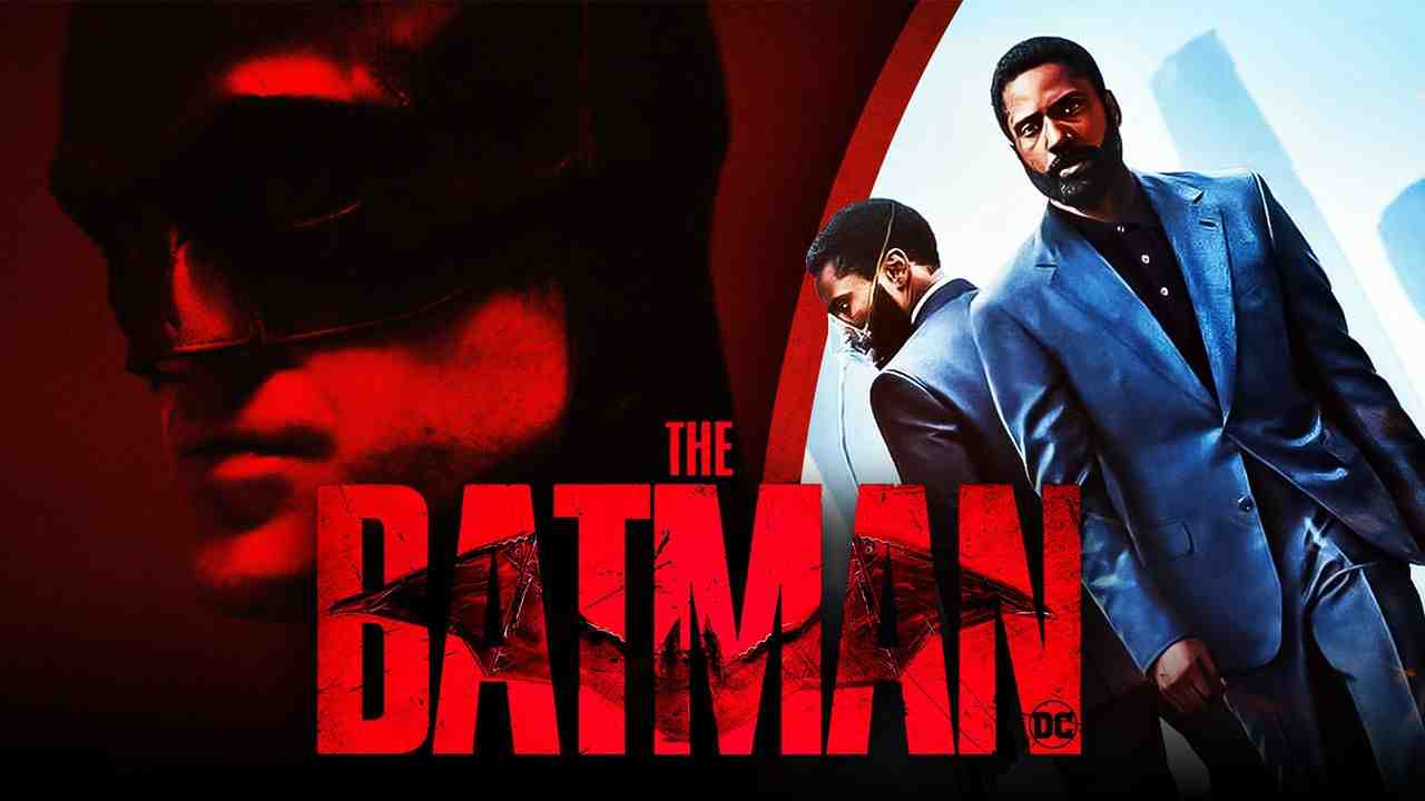 Robert Pattinson as Batman, Tenet Poster