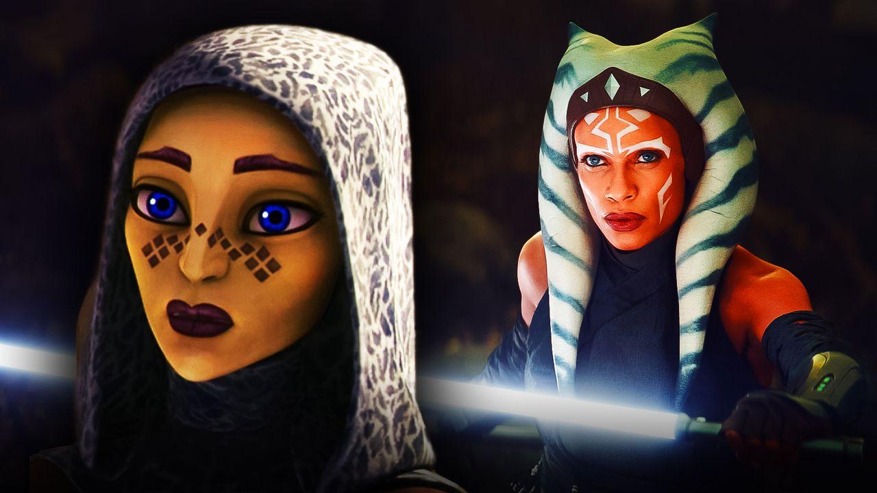 Ahsoka Rosario Dawson Jedi Barriss Offee