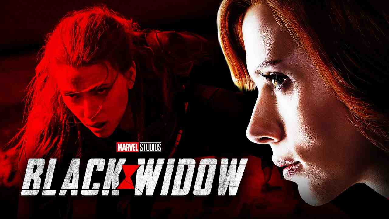 Preview image Black Widow with logo in foreground