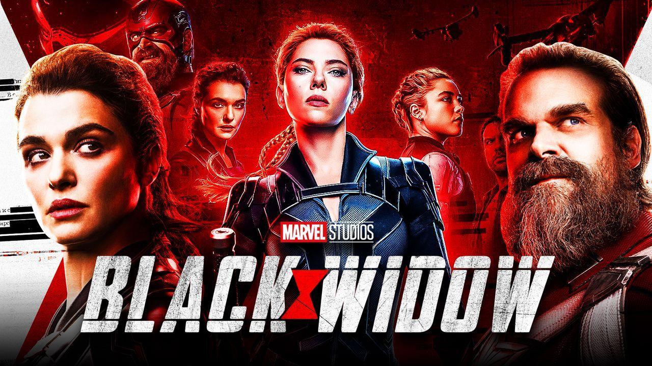 Black Widow Red Guardian Melina
