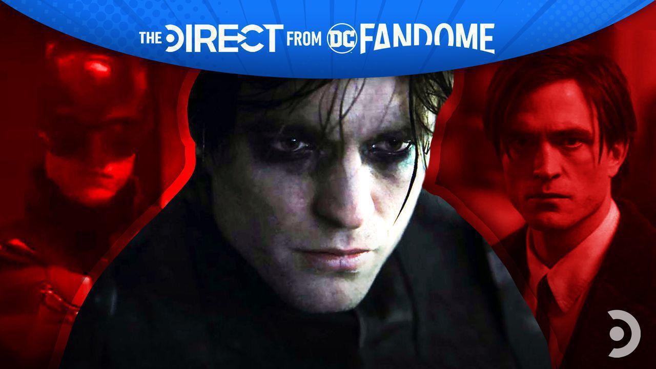 Robert Pattinson as Bruce Wayne and Batman in The Batman