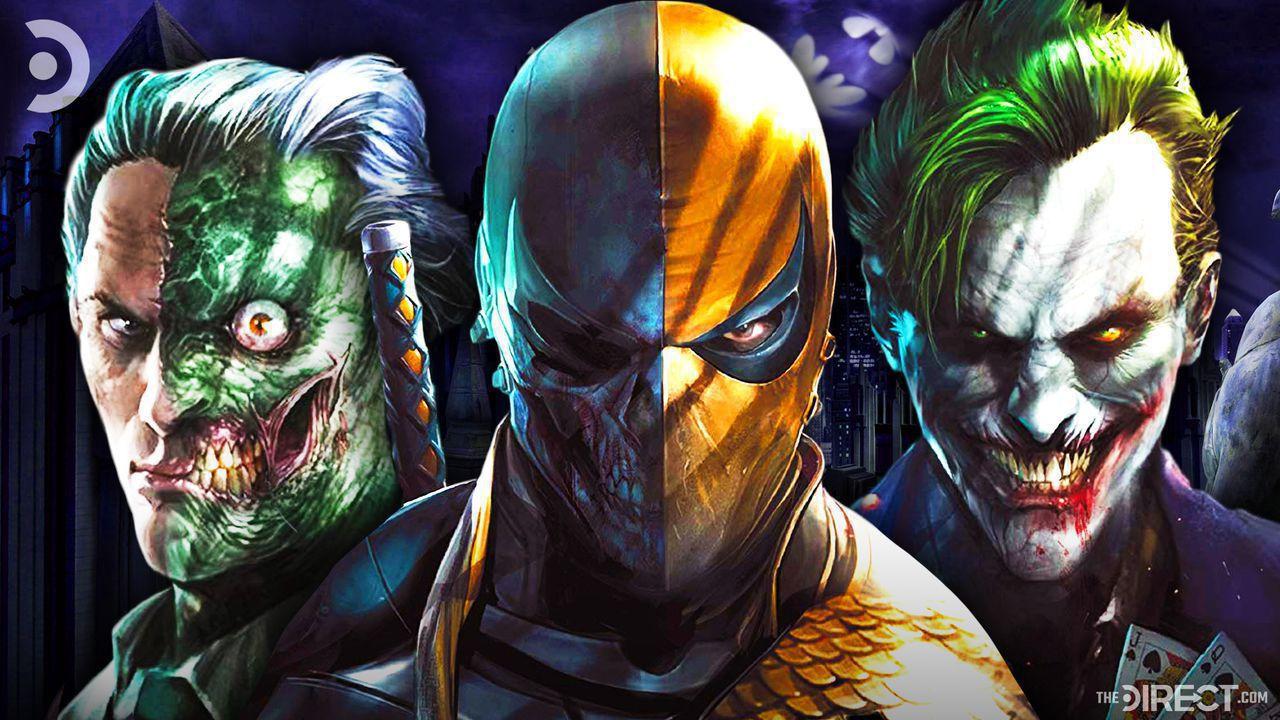 Two-Face, Deathstroke, Joker