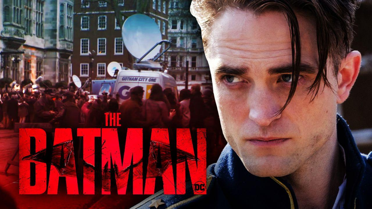 Robert Pattinson, The Batman Logo