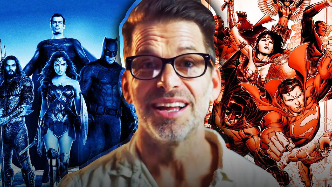 Zack Snyder, Justice League photos
