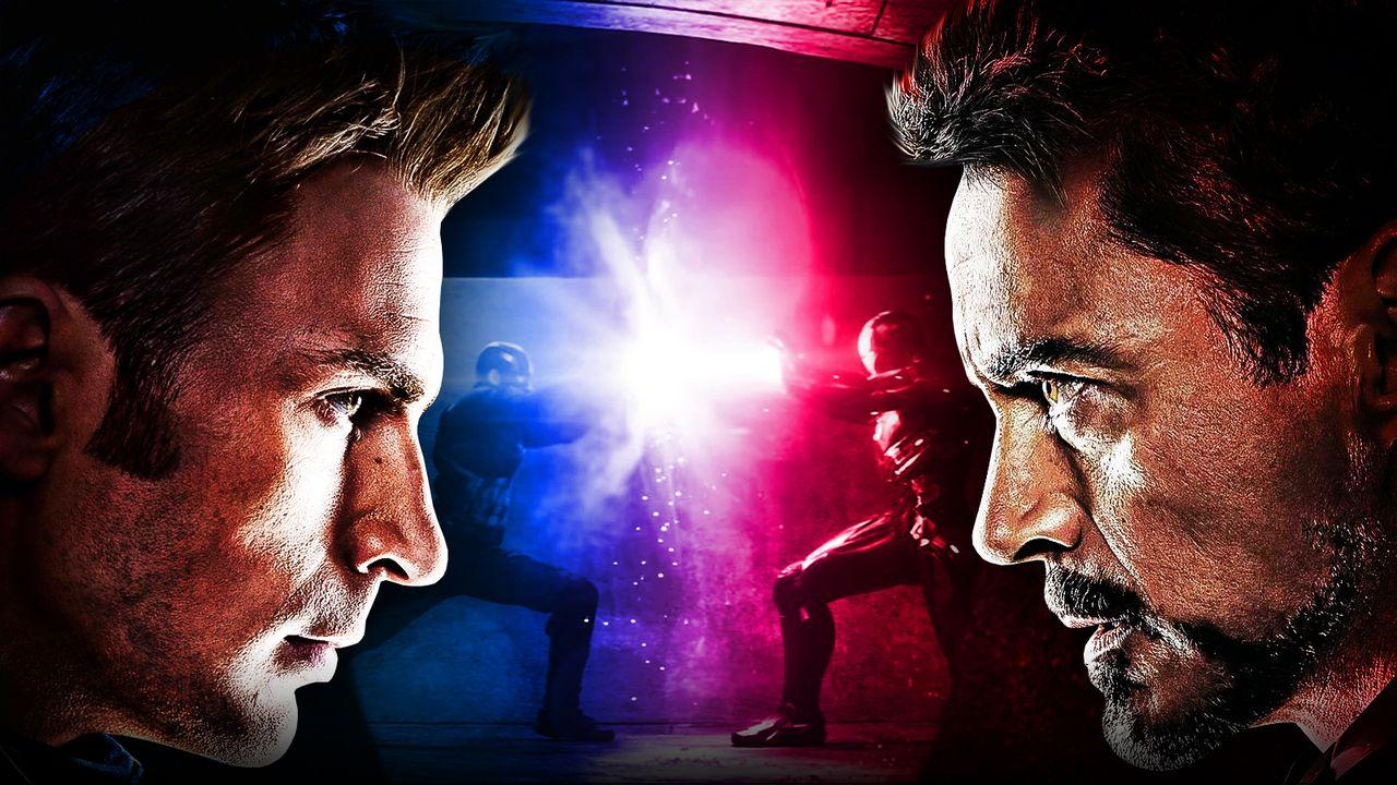 Chris Evans, Captain America: Civil War, Iron Man
