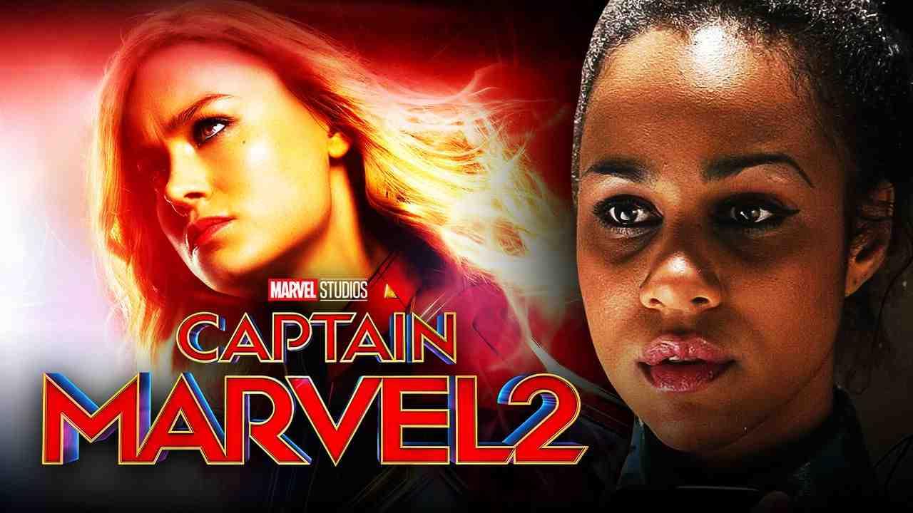 Captain Marvel 2 logo, Zawe Ashton