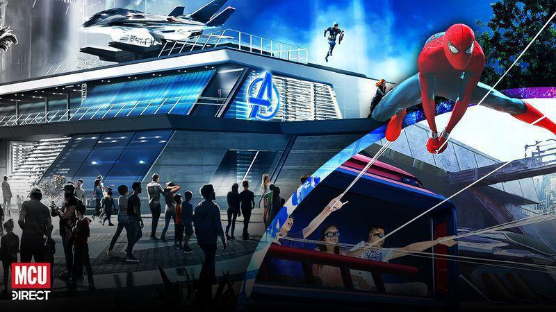 Disney Parks' Avengers Campus Will Not Be MCU Canon