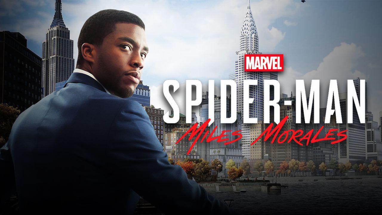 Chadwick Boseman's T'Challa, Miles Morales Game