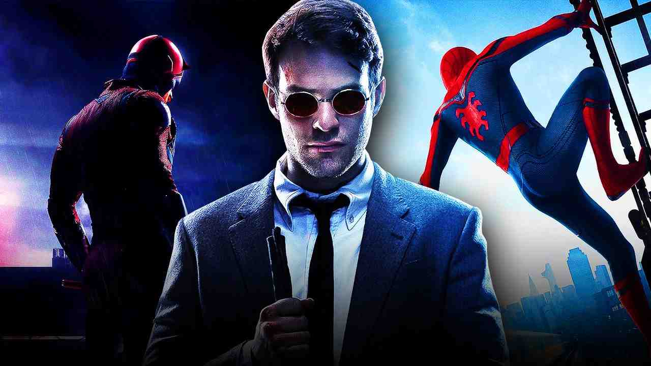 Charlie Cox as Daredevil, Spider-Man
