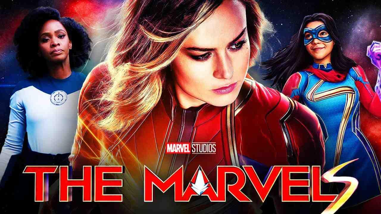 Marvel, MCU, The Marvels, Captain Marvel, Ms. Marvel, Monica