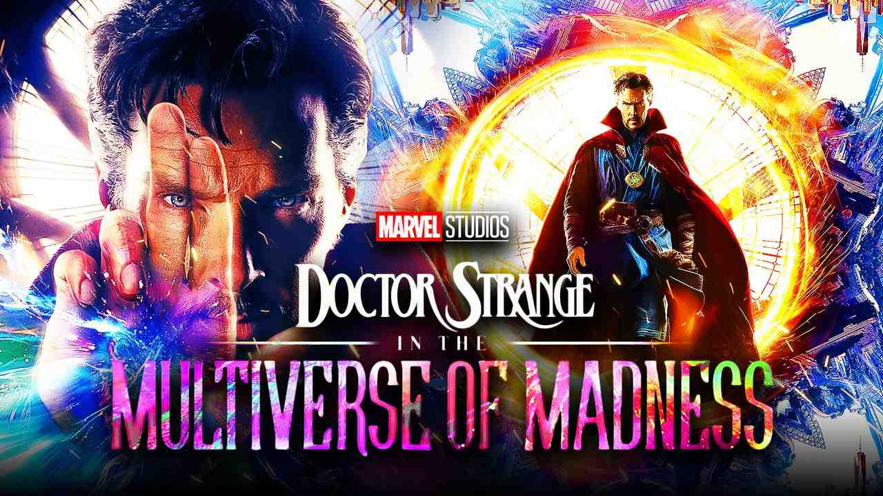 Benedict Cumberbatch as Doctor Strange, Doctor Strange in the Multiverse of Madness logo