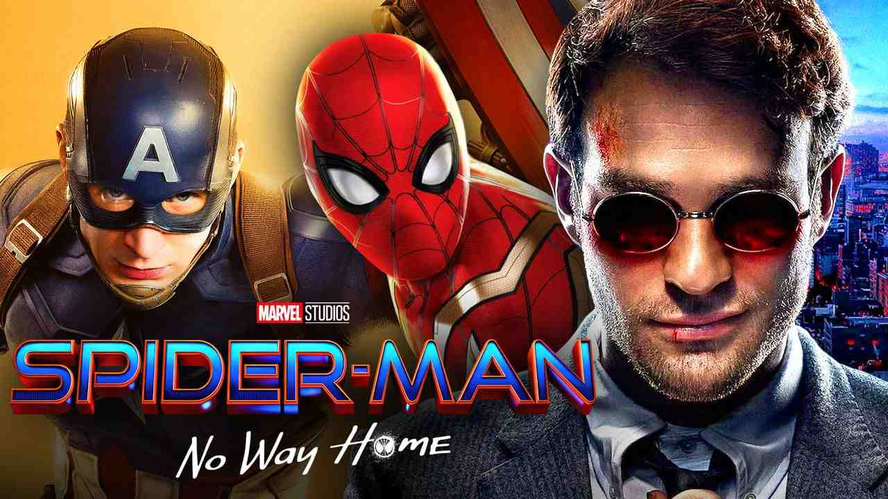 Daredevil, Captain America, Spider-Man
