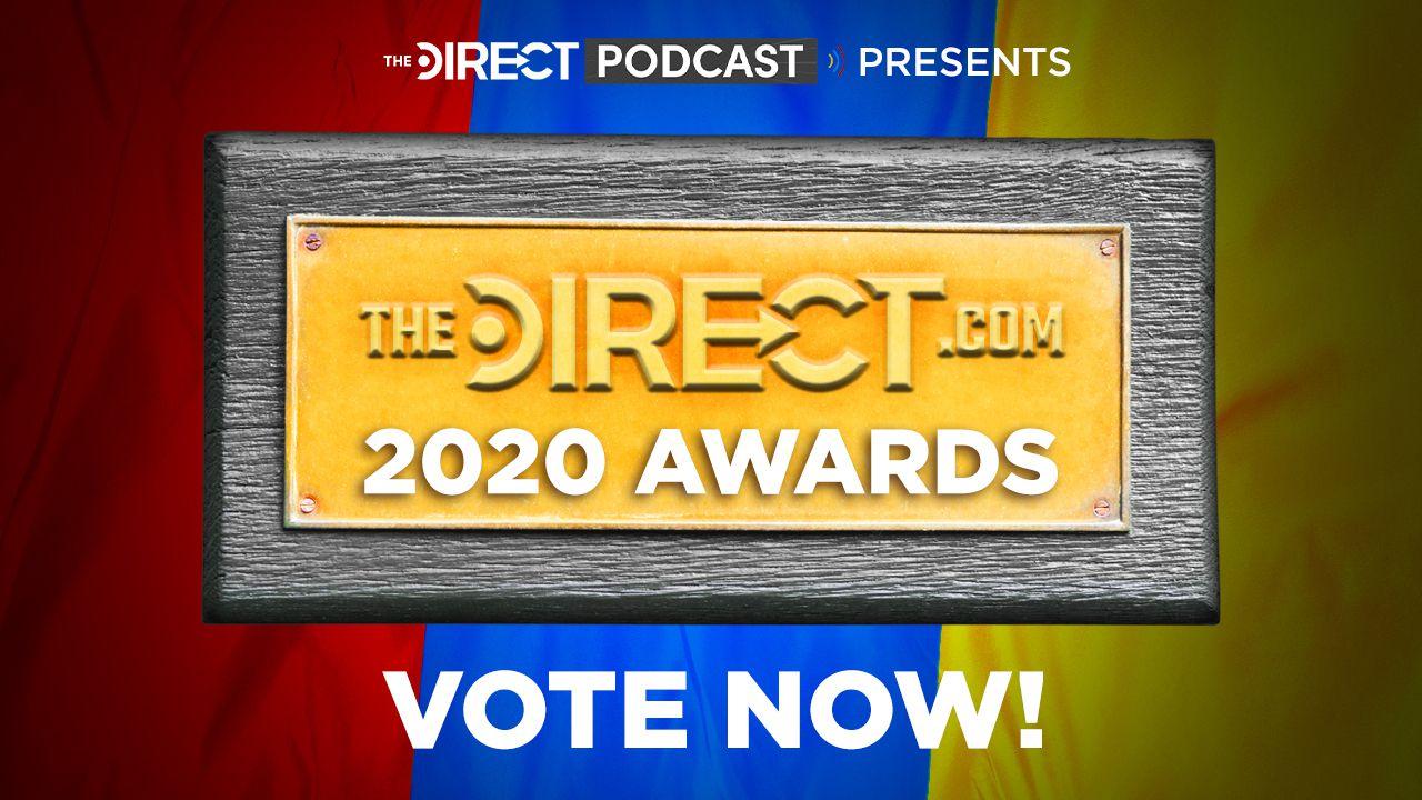 The Direct Awards logo, MCU, DCEU, and Star Wars news awards