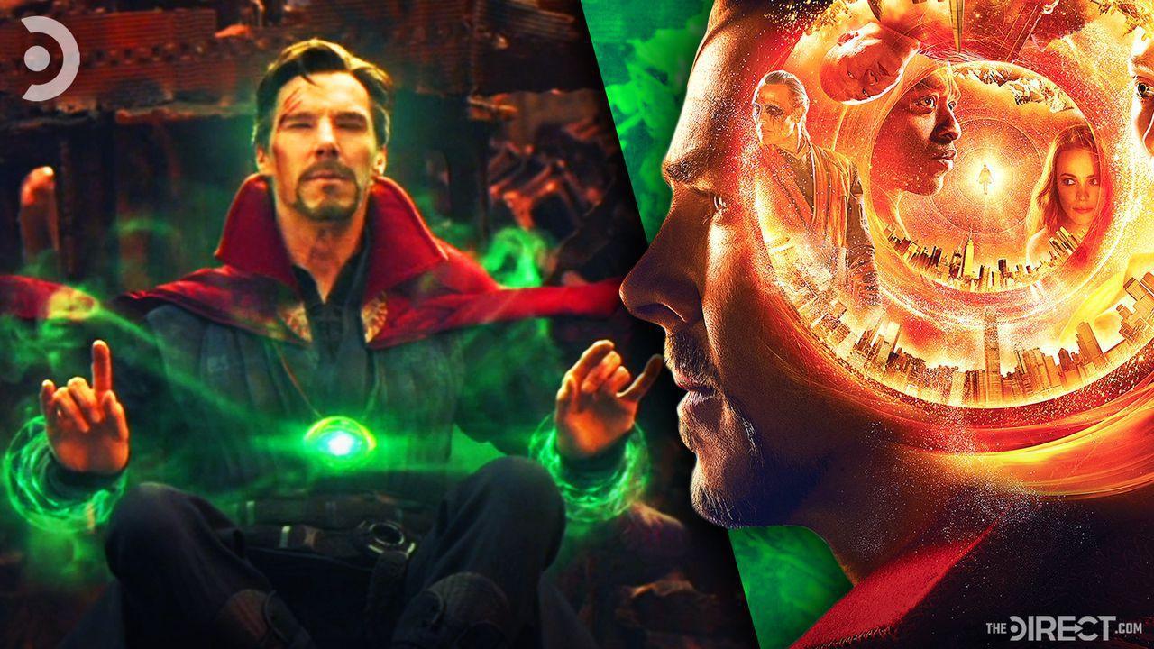 Doctor Strange in Avengers: Infinity War and Doctor Strange poster