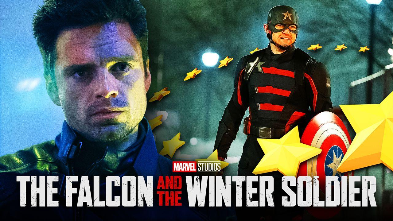 Falcon and Winter Soldier US Agent Bucky