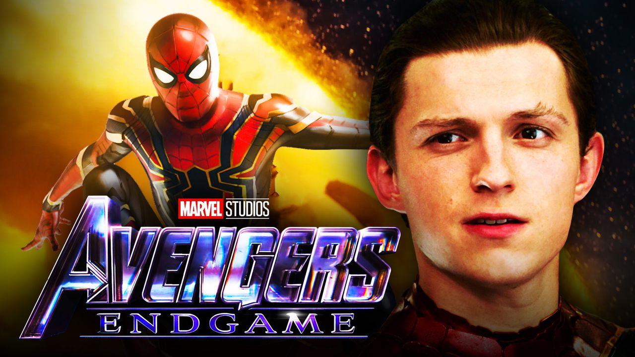 Tom Holland, Iron Spider, Avengers: Endgame