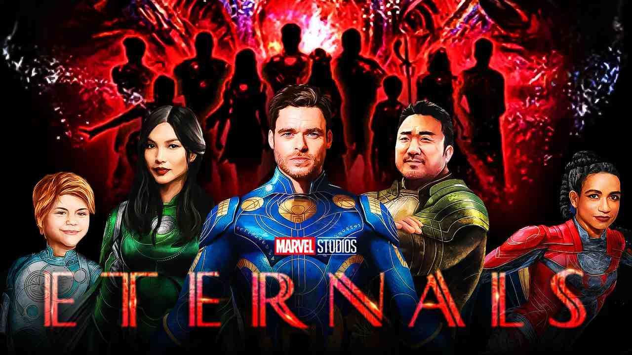 Eternals Movie Team Roster Costumes
