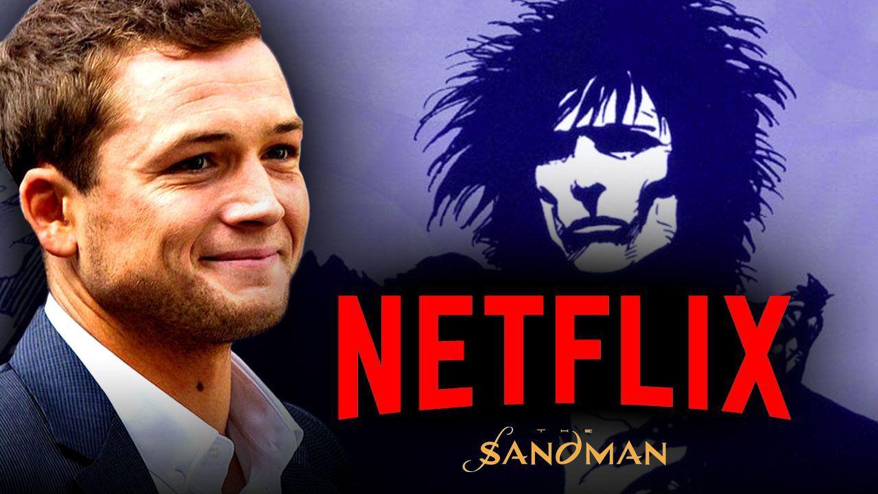 Taron Egerton The Sandman Netflix