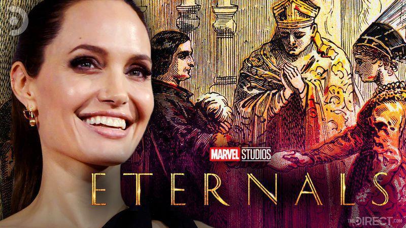 The Eternals, Angelina Jolie, Babylonian Wedding Scene