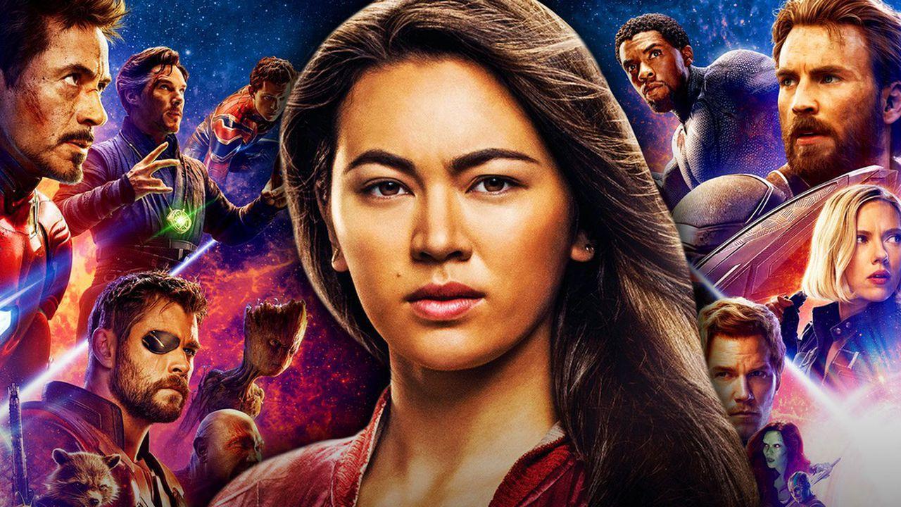 Avengers background, Jessica Henwick