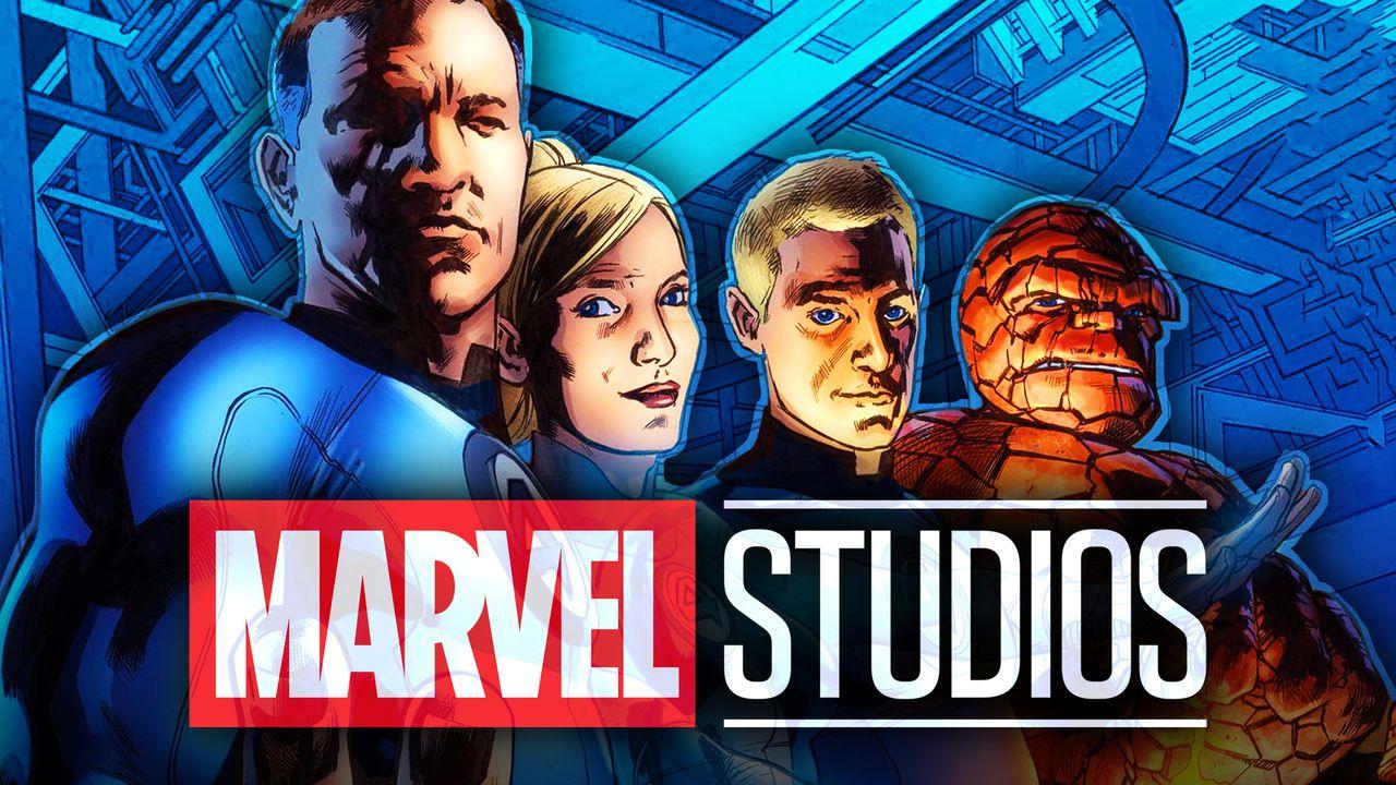 Fantastic Four Comic, Marvel Studios Logo