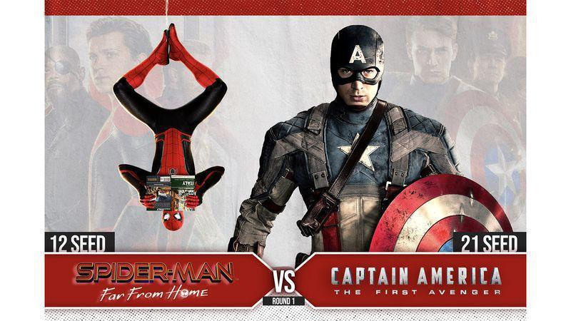 #12 Spider-Man: Far From Home vs. #21 Captain America: The First Avenger