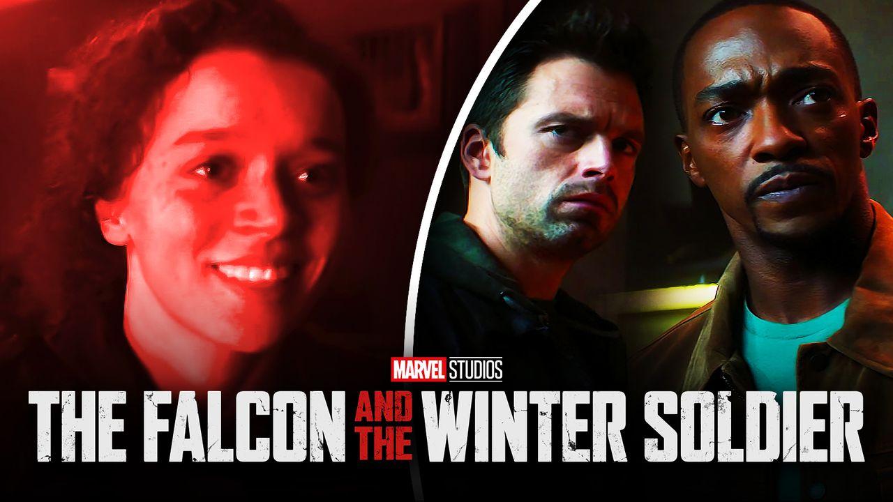 Erin Kellyman Sam Wilson Bucky Barnes Falcon Winter Soldier