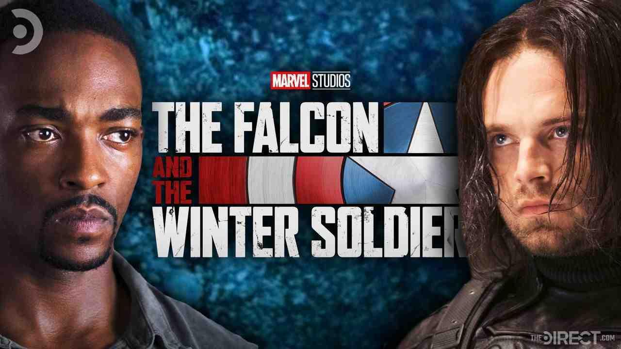 Sam, Falcon and Winter Soldier Logo, Bucky
