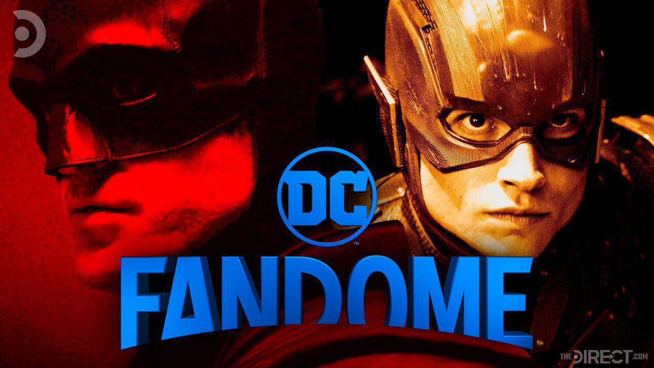 Robert Pattinson's Batman and Ezra Miller's The Flash