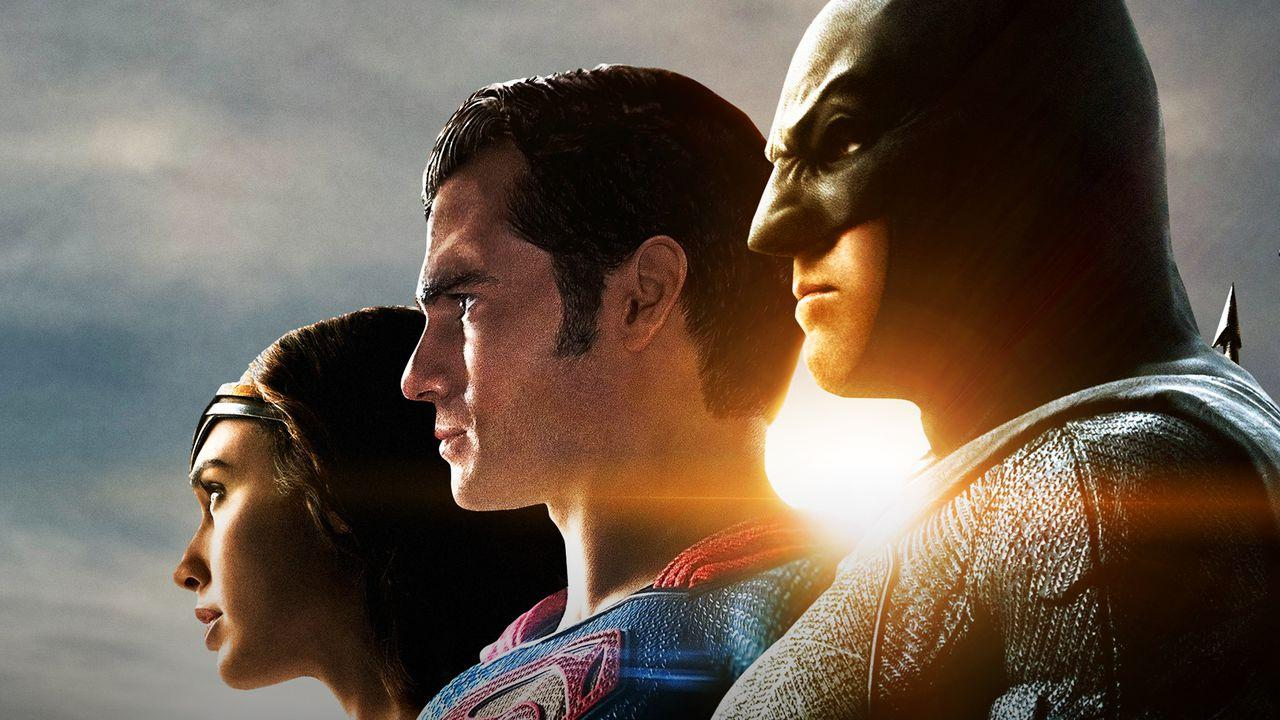 Wonder Woman, Superman, Batman