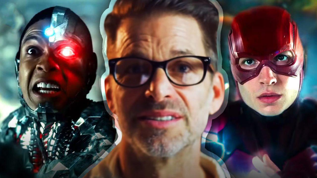 Cyborg, Zack Snyder, the Flash.