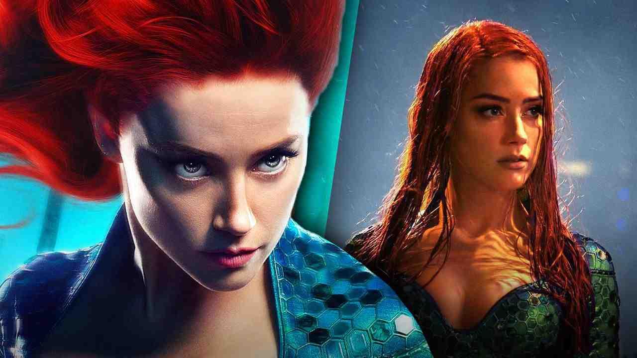 Amber Heard as Mera for Aquaman 2