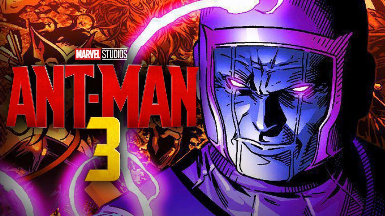 Ant-Man 3 Logo, Kang The Conqueror