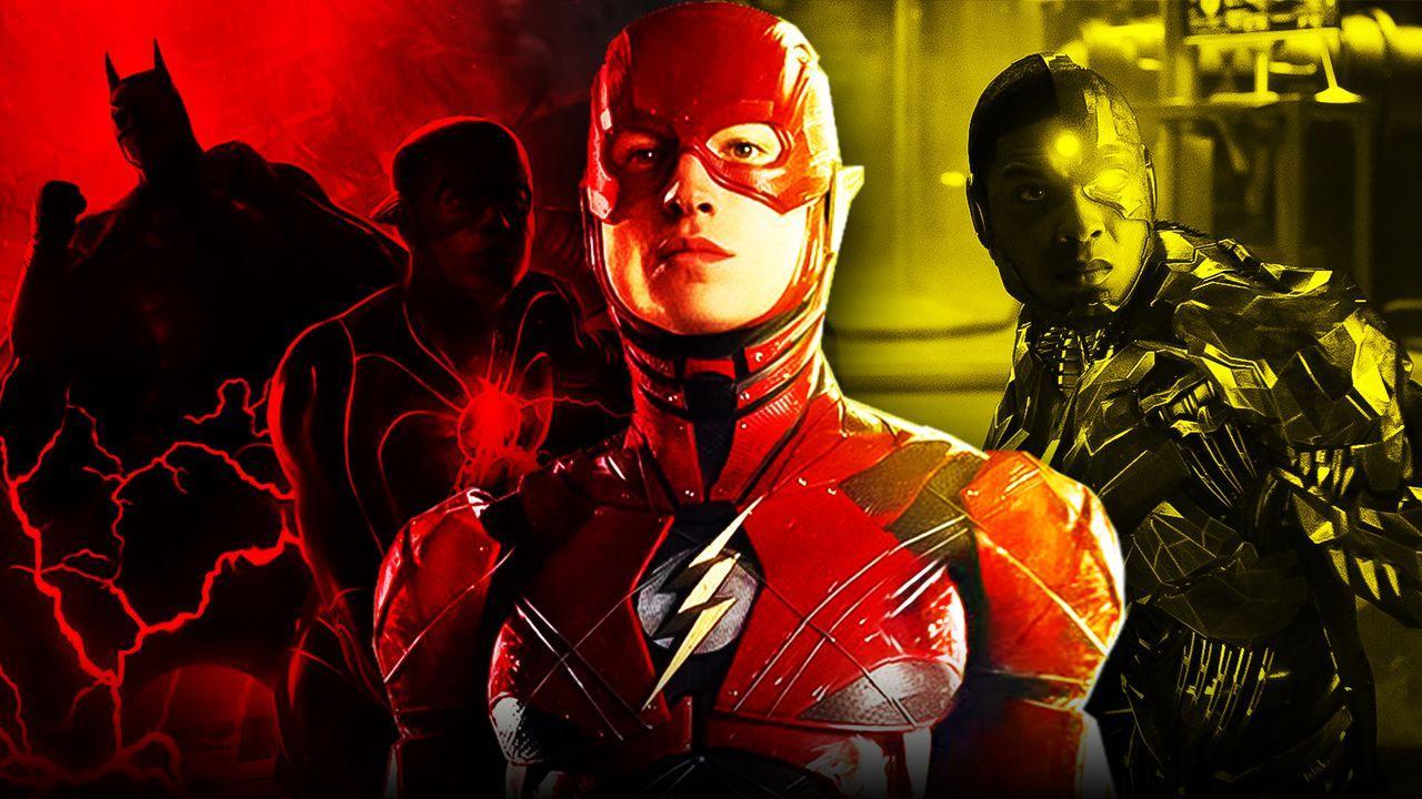Flash Cyborg Batman